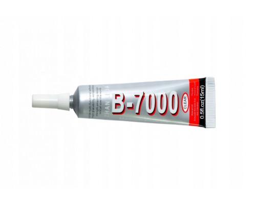 Клей/герметик для проклейки тачскринов B-7000 (15 мл) (прозрачный)