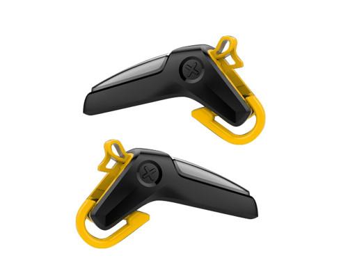 Триггеры для телефона PUBG Shooter, черный с желтым