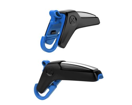 Триггеры для телефона PUBG Shooter, черный с синим