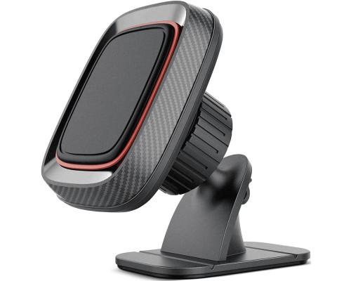 Магнитный держатель DREAM G160 для телефона в машину + держатель для кабелей, черный