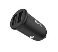 Автомобильная зарядка Hoco Z30, 3.1А, черный