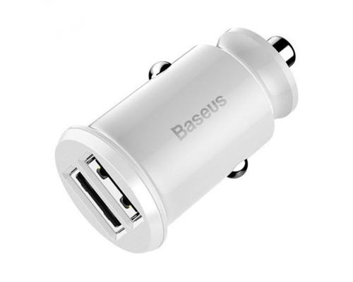 Автомобильная зарядка Baseus CCALL-ML02 белый