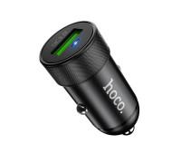 Автомобильная зарядка Hoco Z32, 3.0А, черный