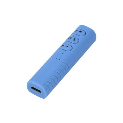 Адаптер для наушников BT-Receiver 801 Bluetooth Audio Receiver синий