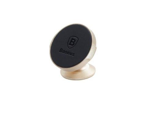 Магнитный держатель Baseus Small Ears Series Magnetic Bracket SUER-B0V золотой