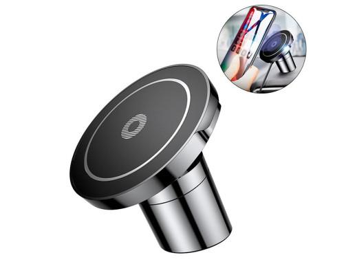 Магнитный держатель с беспроводной зарядкой Baseus Big Ears Car Mount Wireless Charger WXER-01 черный