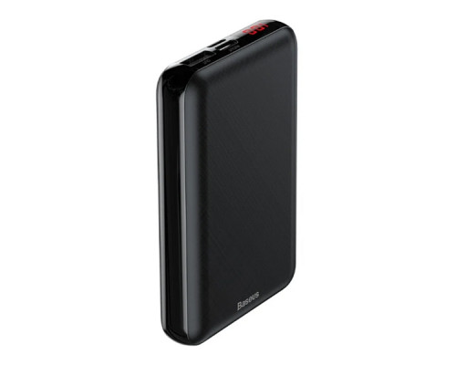 Внешний аккумулятор Baseus Mini S PD edition LED display power bank 10000 mAh PPALL-XF-01 черный