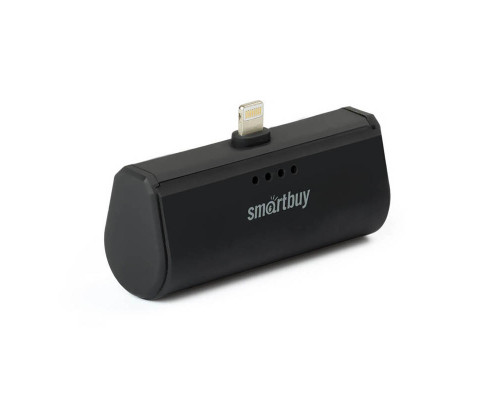 Аккумулятор SmartBuy Turbo-8 Lightning, 2200 mAh, черный