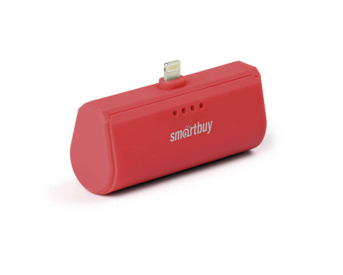 Аккумулятор SmartBuy Turbo-8 Lightning, 2200 mAh, красный