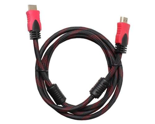 Кабель Nocab HDMI (M) — HDMI (M) красно-черный 1.5м