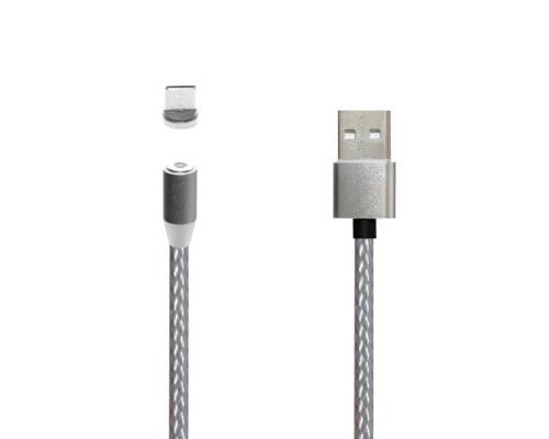 Кабель JBH MG-03 USB - Type-C магнитный, 2А, 1м