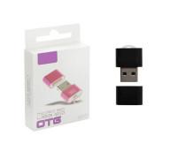 Картридер USB MicroSD CR-01, черный