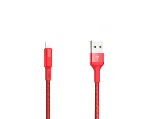 Кабель Hoco X26 USB — Type-C, 1м, красный