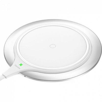 Беспроводная сетевая зарядка Baseus Metal Wireless Charger WXJS-S2 серебро