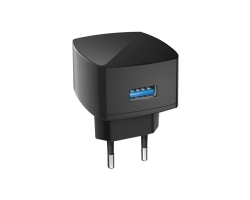 Сетевое зарядное устройство Dream C26, черное