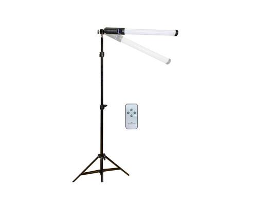 Напольный штатив для кольцевой лампы JBH-HD1231 с осветителем светодиодным RGB Light Stick