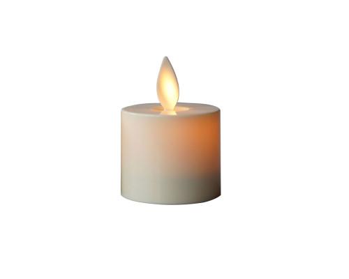 Светодиодная свеча NG-265 на батарейках, кремовая