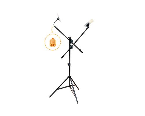 Напольный штатив JBH HD0823 с двумя журавлями и держателем для телефона
