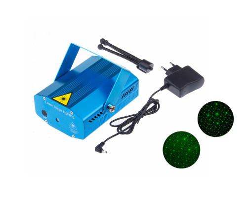 Новогодний лазерный проектор XX-027 для дома, 2 рисунка