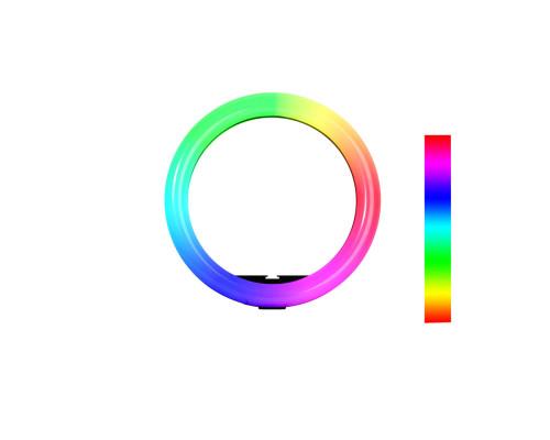 Кольцевая RGB лампа MJ-301, диаметр 30 см