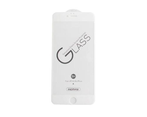 Защитное стекло Remax Medicine GL-27 для iPhone 6S Plus 3D белое