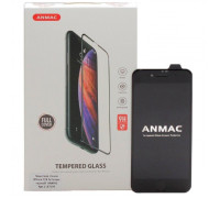 Защитное стекло ANMAC 5D для iPhone 8 Full Cover, дисплей и задняя часть, черное