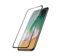 Защитное стекло ANMAC 5D для iPhone X Full Cover, дисплей и задняя часть, черное