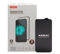 Защитное стекло ANMAC 3D для iPhone X черное