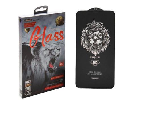 Защитное стекло Remax Emperor Series GL-32 для iPhone 11 Pro Max 9D черное