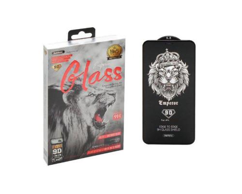 Защитное стекло Remax Emperor Series GL-32 для iPhone 11 Pro 9D черное