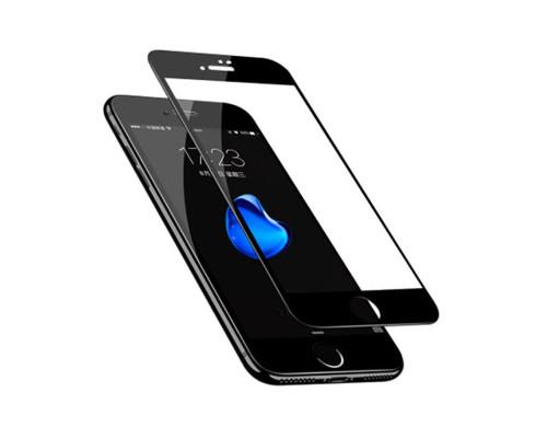 Защитная пленка для iPhone 7 Plus glass fiber черный