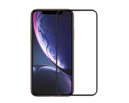 Защитная пленка для iPhone XR glass fiber черный