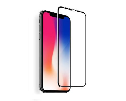 Защитное стекло OG для iPhone XR 5D черный
