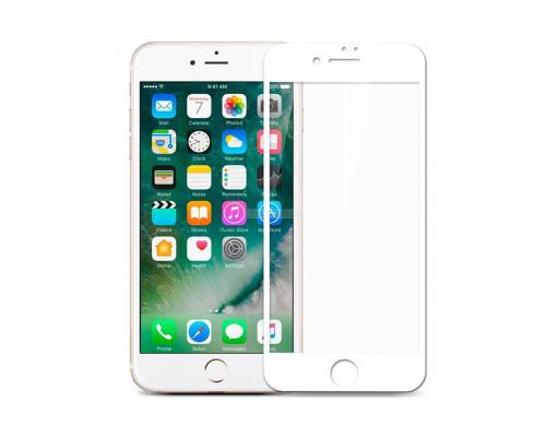 Защитное стекло OG для iPhone 7 белый