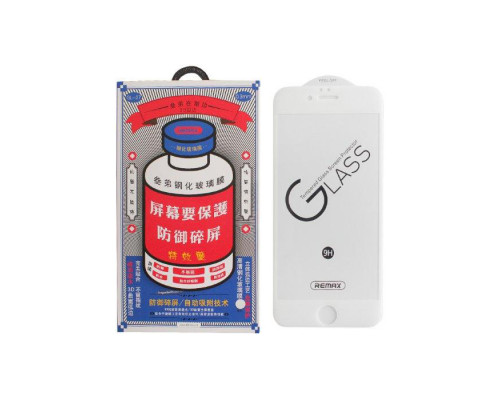 Защитное стекло Remax Medicine GL-27 для iPhone 6 3D белое
