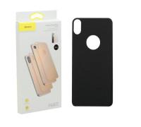 Защитное стекло Baseus для iPhone XS Max задняя часть черное