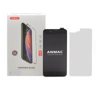 Защитное стекло ANMAC 5D для iPhone 8 Plus, Full Cover, дисплей и задняя часть, черное