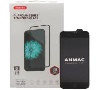 Защитное стекло ANMAC для iPhone 8 3D черное