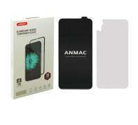 Защитное 3D стекло ANMAC для iPhone XR, дисплей и задняя часть