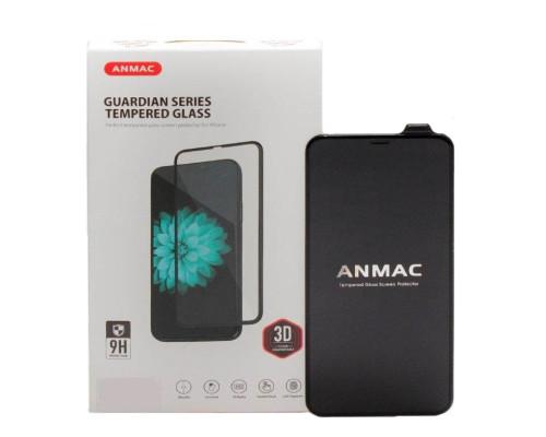 Защитное 3D стекло ANMAC для iPhone XS Max, дисплей и задняя часть