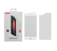 Защитное стекло ANMAC 5D для iPhone 8 Plus, Full Cover, дисплей и задняя часть, белое