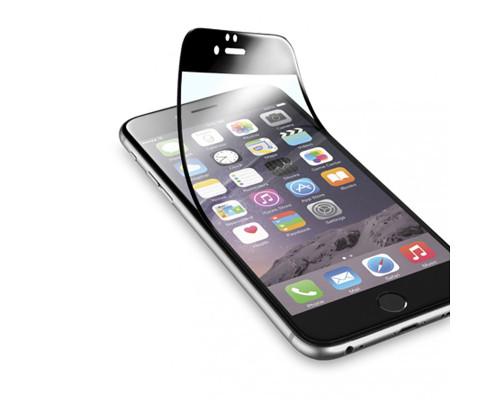 Защитная пленка glass fiber для iPhone 6 черная