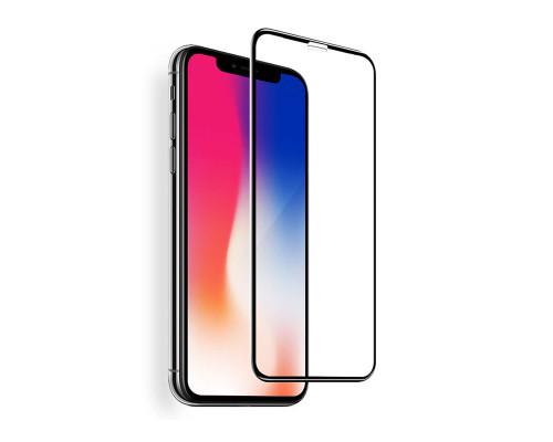 Защитное стекло OG для iPhone XS 5D черный