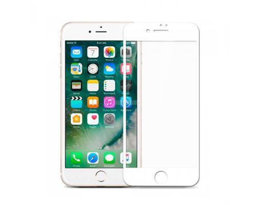 Защитное стекло OG для iPhone 8 белый