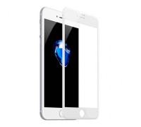 Защитное стекло OG для iPhone 8 Plus белый