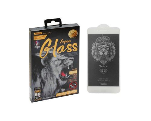 Защитное стекло Remax GL-35 для iPhone 7 Plus 9D белое антишпион