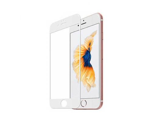 Защитное стекло Reimaged для iPhone 6 Plus 9D белый
