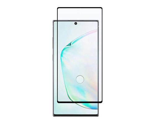 Защитное стекло для Samsung Note 10 полная проклейка, толщина 0.18мм