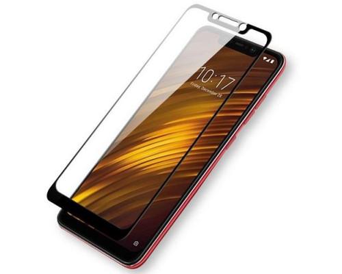 Защитное стекло для Xiaomi Pocophone F1 3D черное