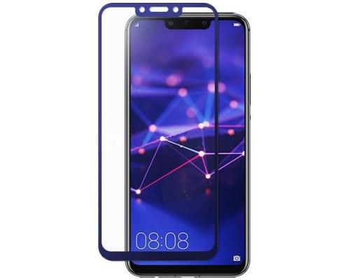 Защитное стекло Huawei Mate 20 lite 3D синее